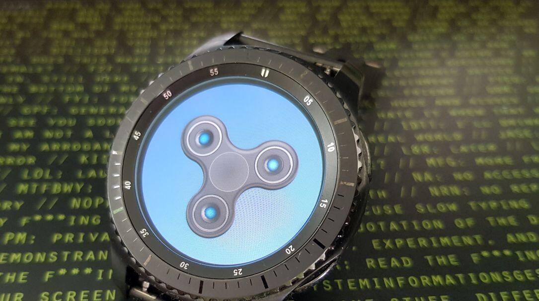 DDDWNB Fidget Spinner Samsung tizen Wearables