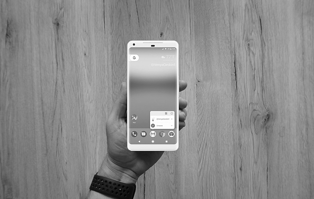 Android event Google Live pixel stream