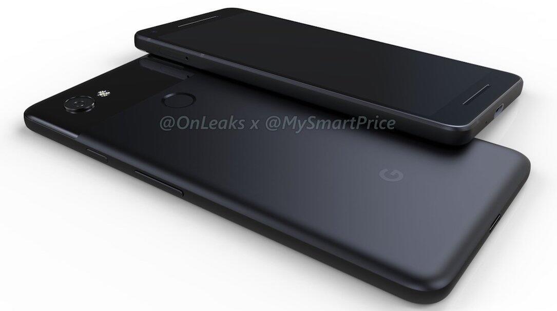 Google Pixel 2 und Pixel XL 2: So sollen beide Modelle aussehen