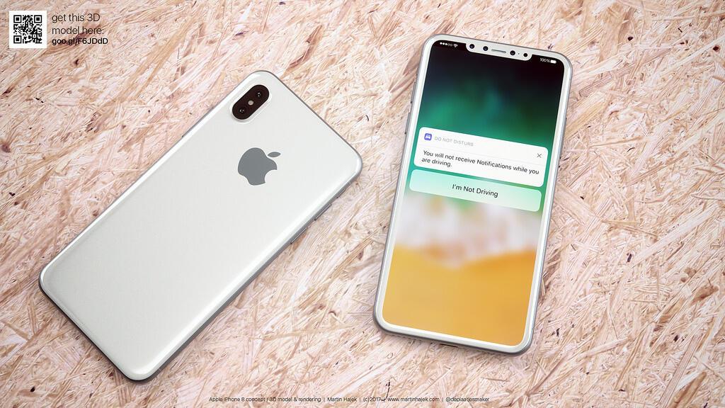 Apple iOS iphone iphone 8 Konzept martin hajek