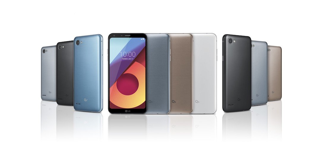 1 aff Android LG q6 Smartphone