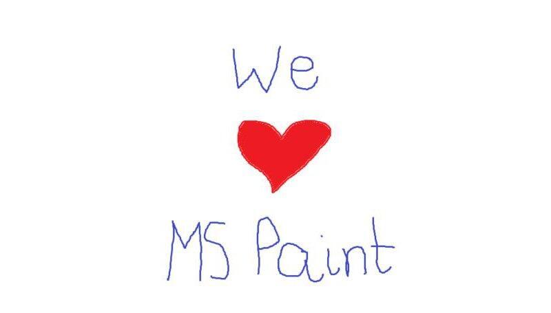 eigestellt ende microsoft paint Store Windows