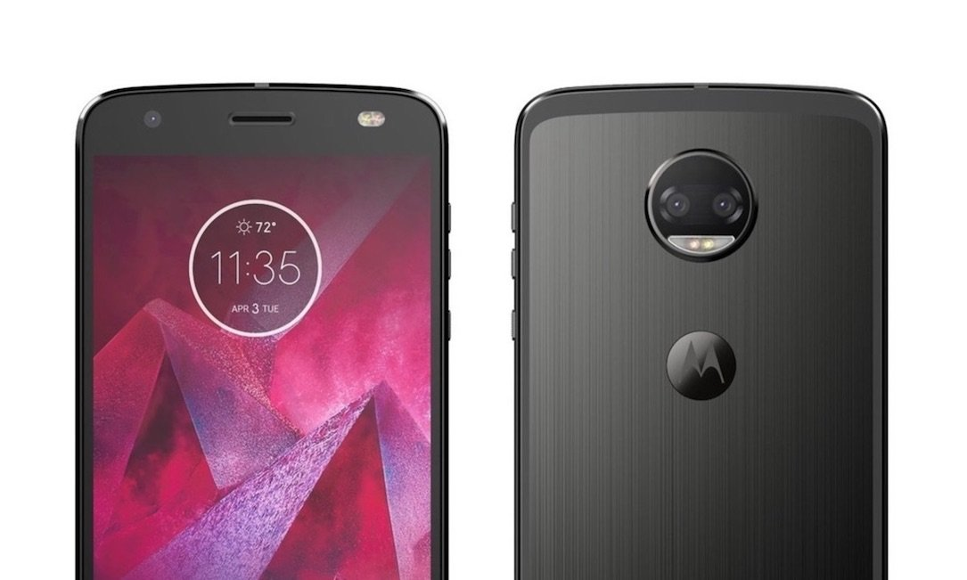 1 Android moto Motorola z2