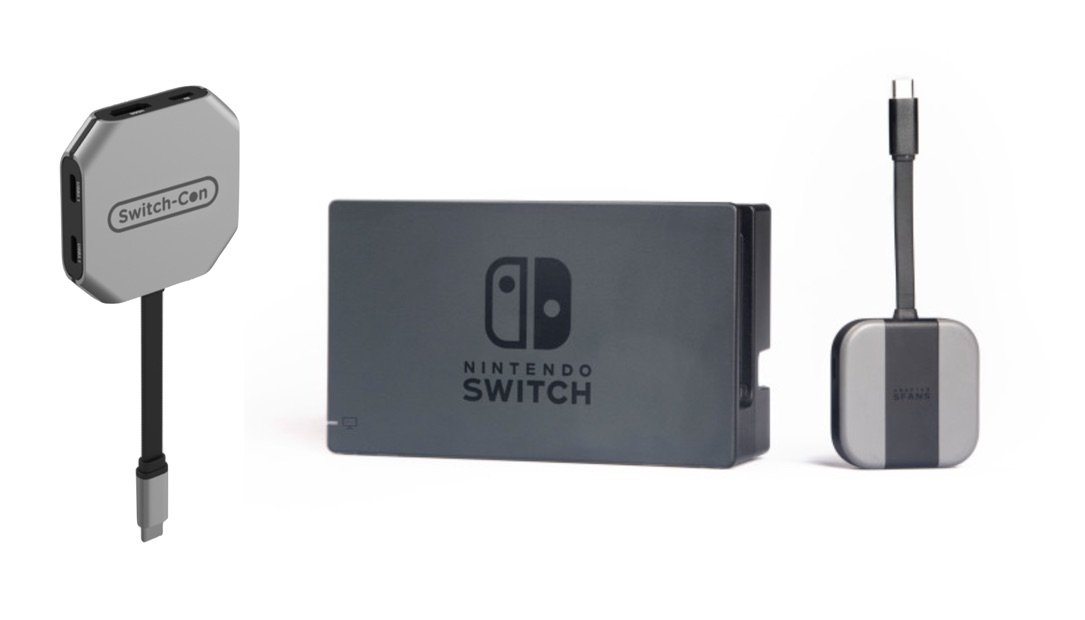 Dock Nintendo portabel sfans Switch switch-con