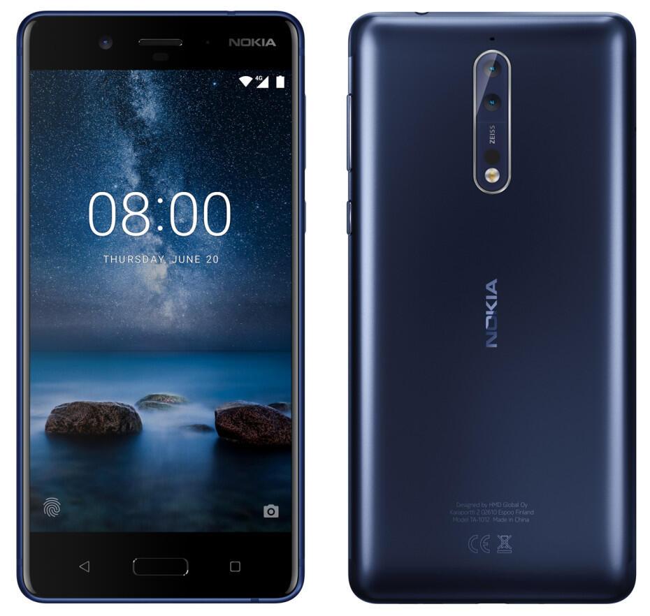 Android Nokia Nokia 8 wann