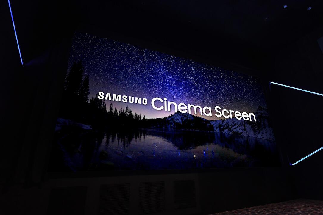 cinema screen Display Kino led Samsung