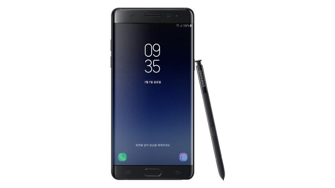Samsung traut sich: Feuer-Handy Galaxy Note 7 feiert Comeback