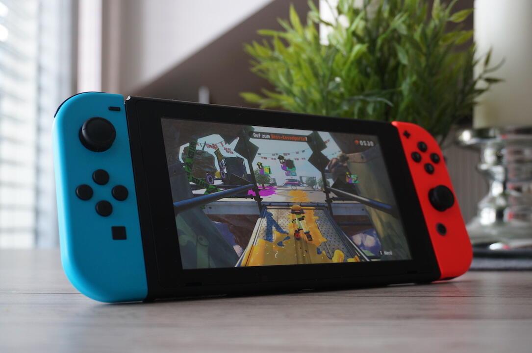 aff neu Nintendo splatoon splatoon 2 Switch Update