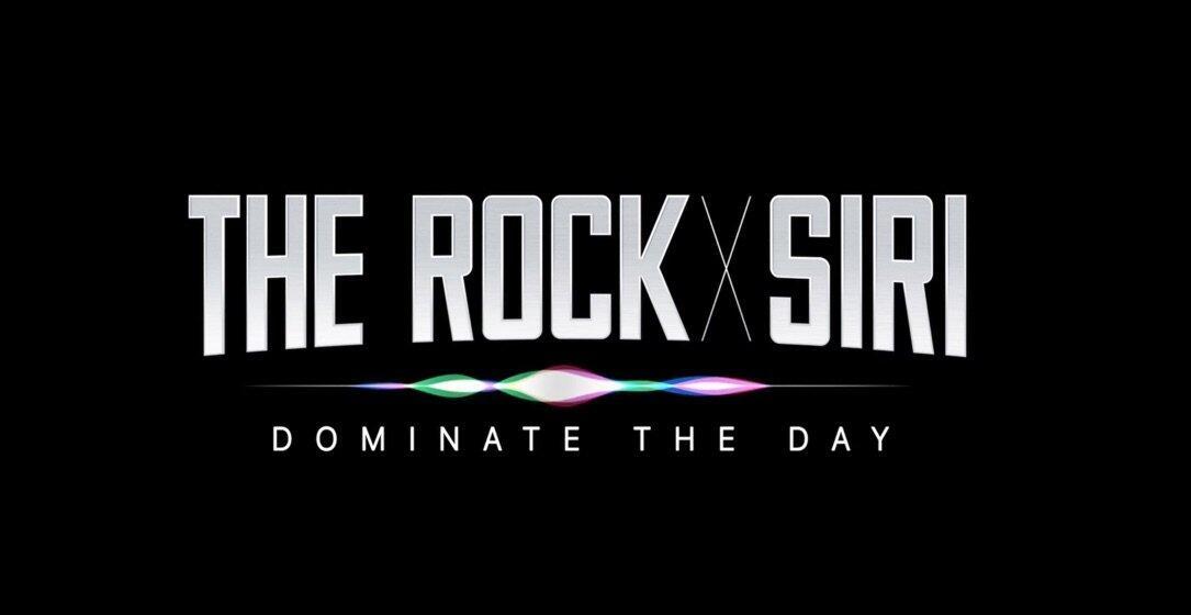 Apple film iOS iphone siri the rock Video werbung