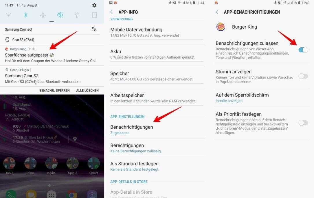 Android benachrichtigungen verbergen