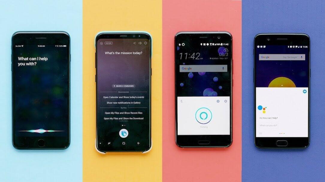 alexa amazon Android Apple assistant bixby Google iOS Samsung sisi yt