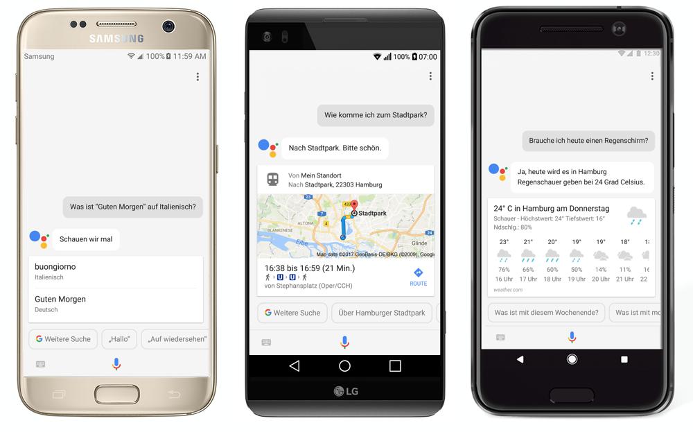 Android assistant deutschland download Google Samsung