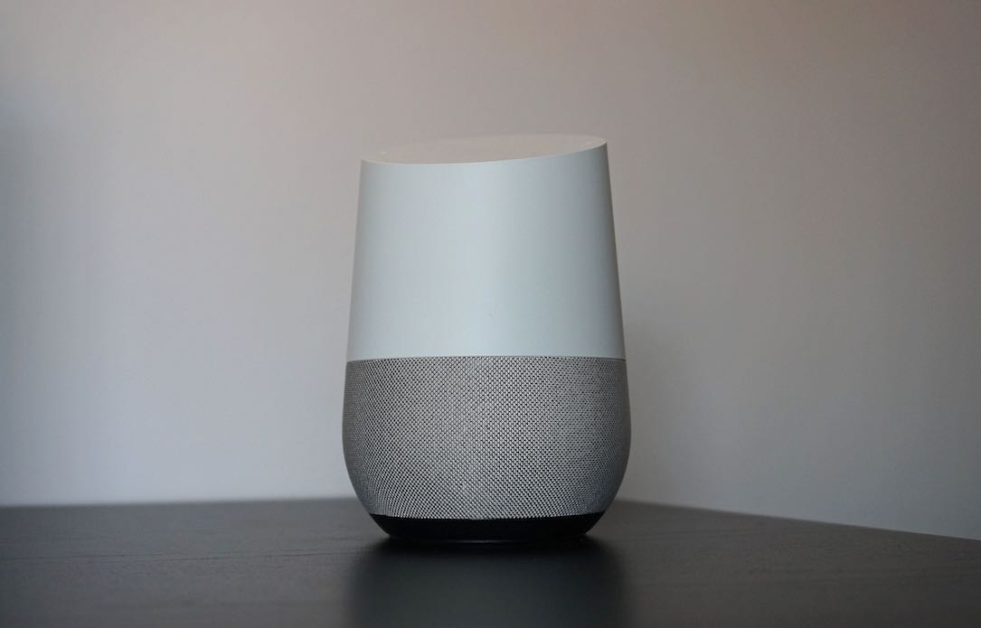 Android assistant Google home