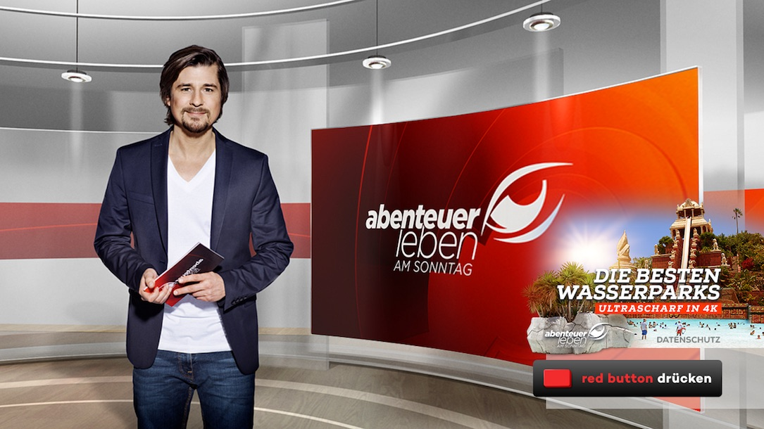 4k abenteuer leben hbbtv kabel1 pro7 sat1 TV