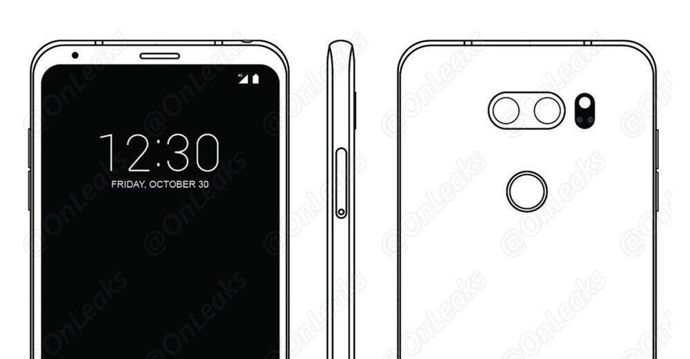 Android IFA2017 Leak LG v30