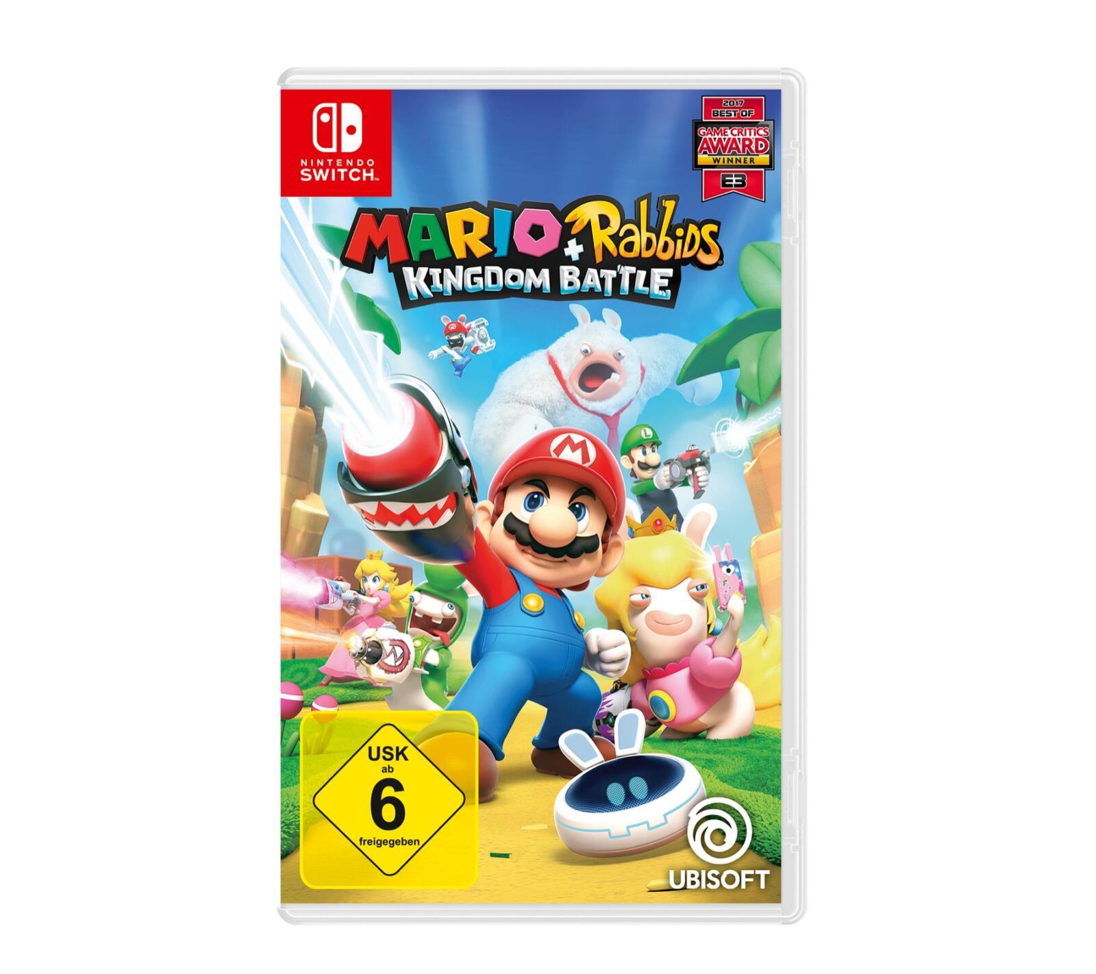 aff kingdom battle mario Nintendo rabbids Switch ubisoft