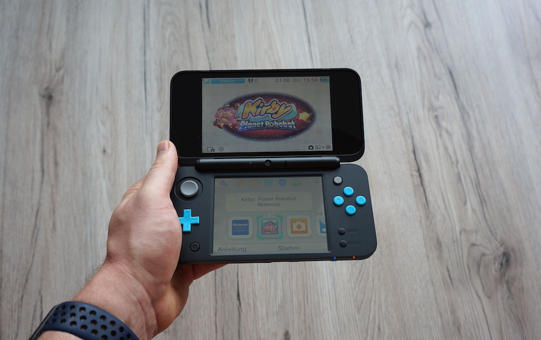 1 2ds xl aff fazit Handheld new Nintendo test yt