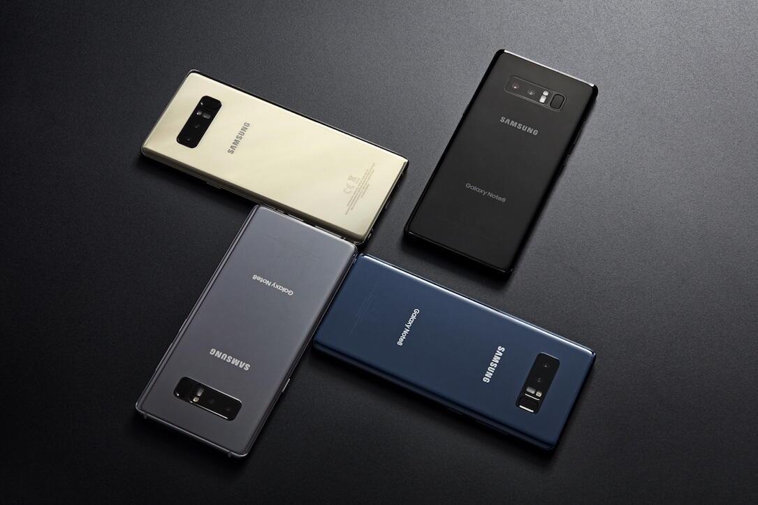 akku Android galaxy kleiner laufzeit note note 8 Samsung vergleich