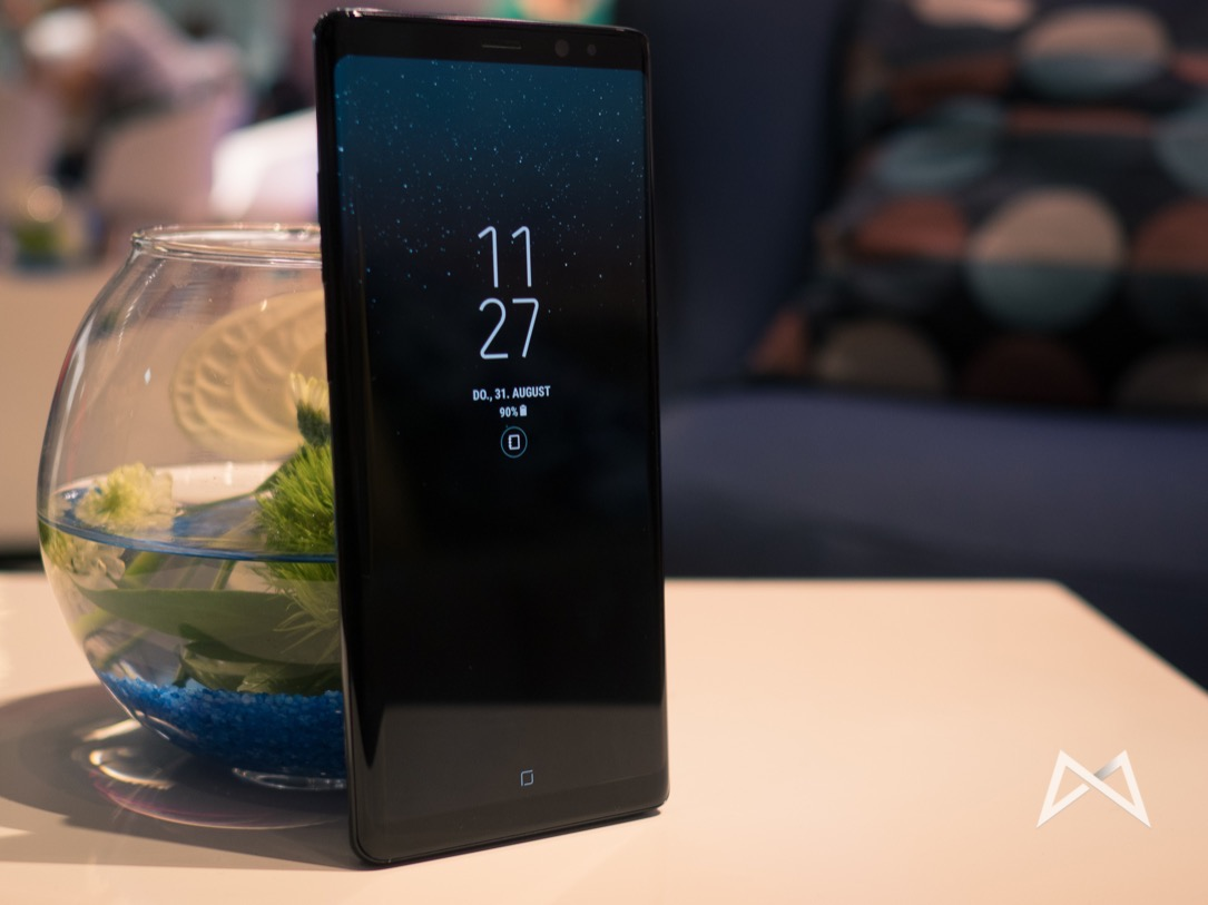 Android Display fingerabdruck galaxy note 9 Samsung