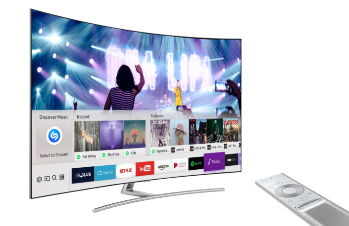 Samsung shazam smart tv TV