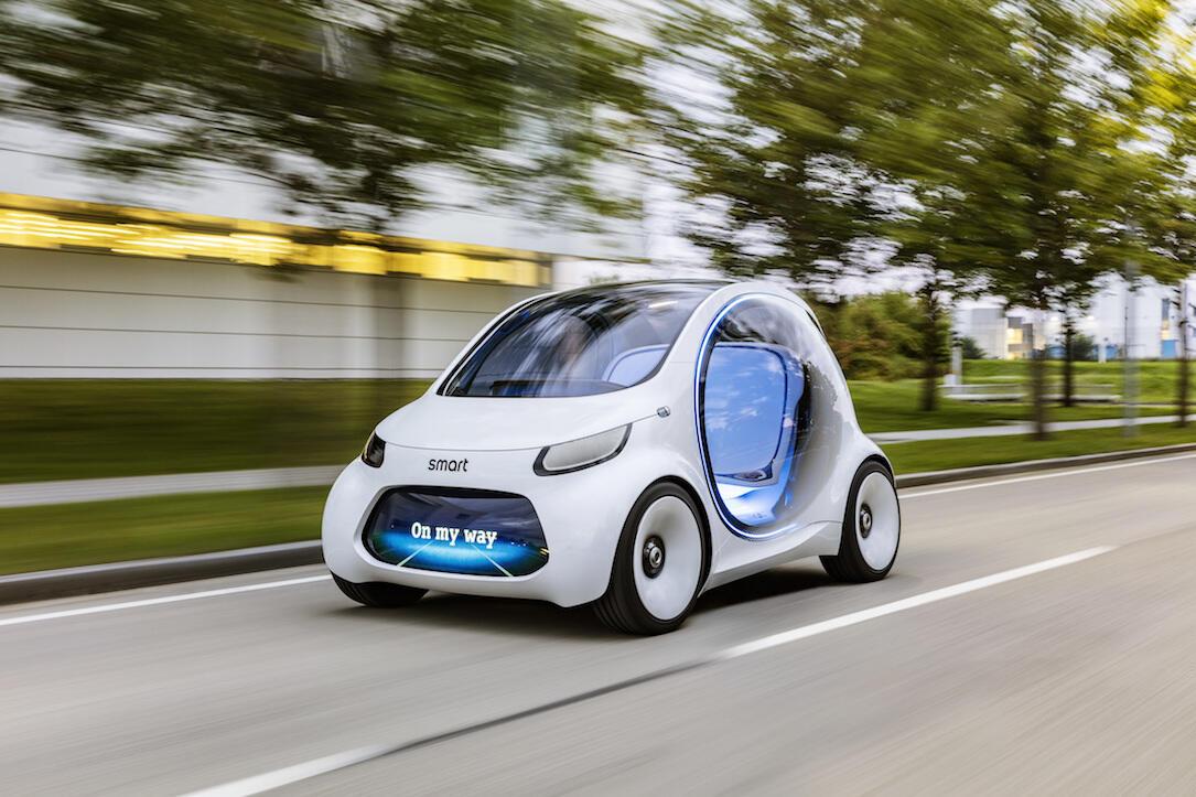 Daimler Konzept smart vision eq