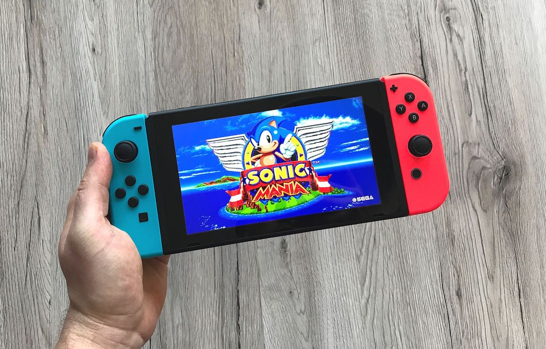 1 mania Nintendo playstation review sonic Switch test
