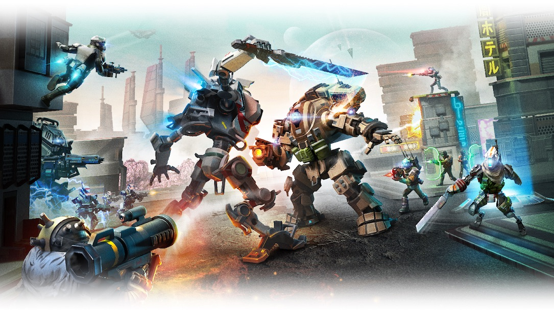 Android assault iOS titanfall