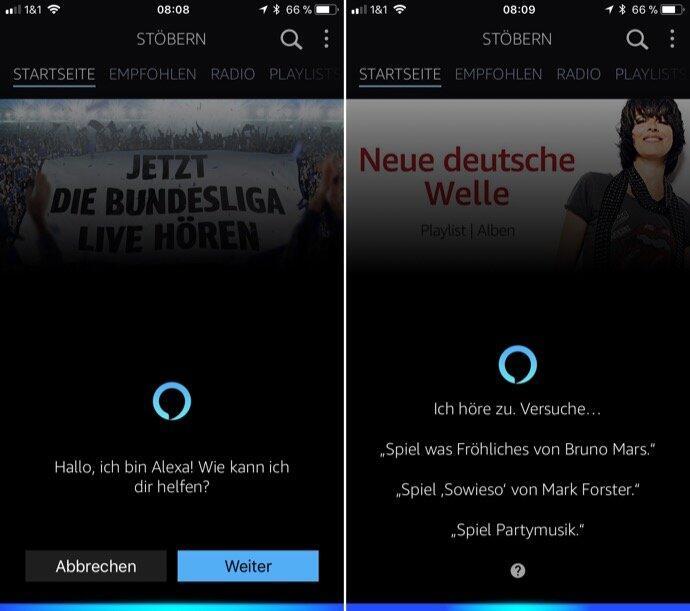 alexa amazon Android app Apple iOS music smart home sprache Update