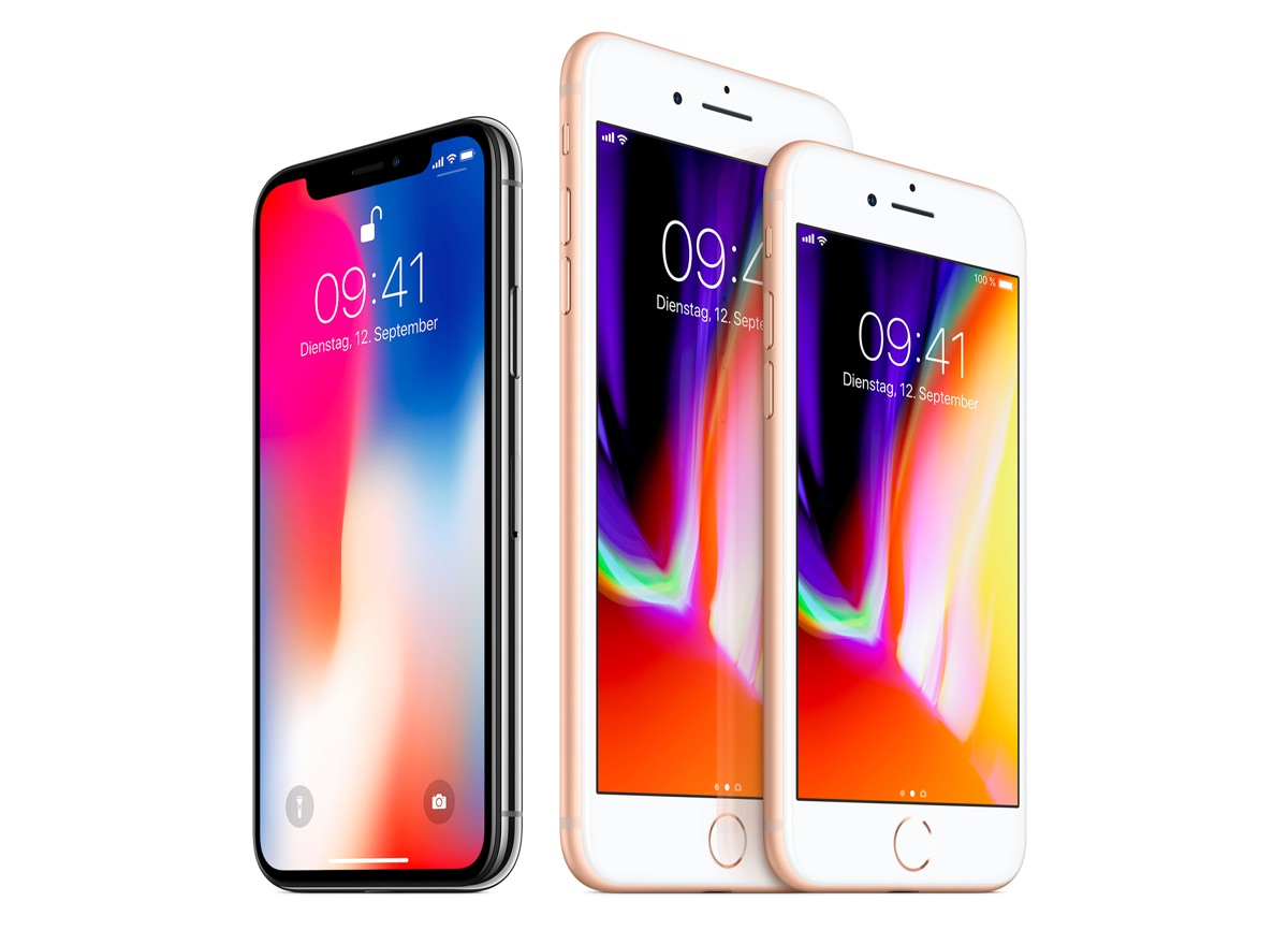 Apple iOS iphone iphone 8 iphone x vorverkauf