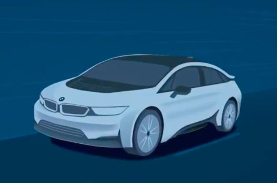 BMW i Vision Dynamics: Elektroauto mit 600 km Reichweite vorgestellt