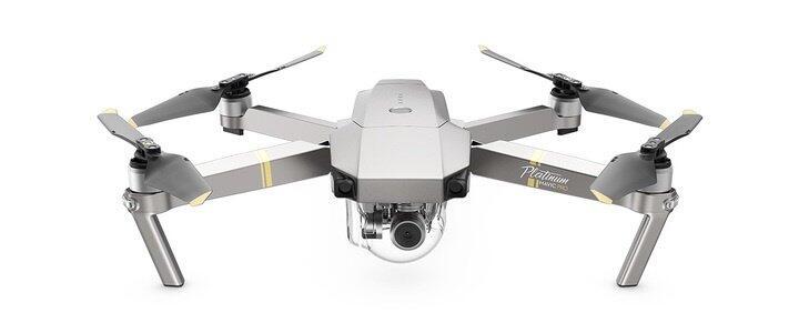 DJI drohne IFA2017 Mavic Pro Platinum Quadrocopter
