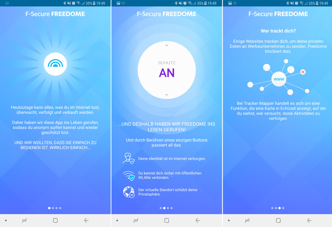 Android F-Secure Freedome iOS vpn