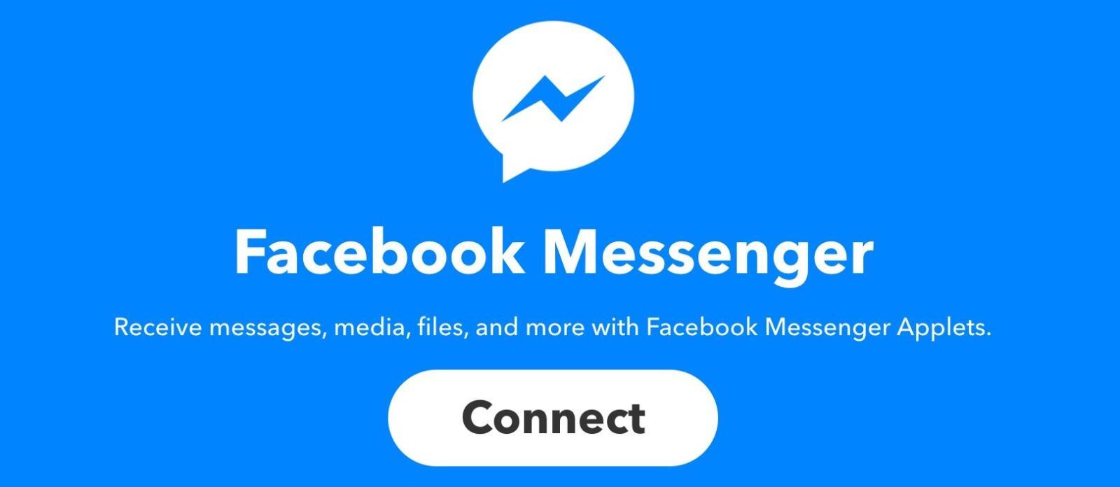 Automation facebook IFTTT Messenger
