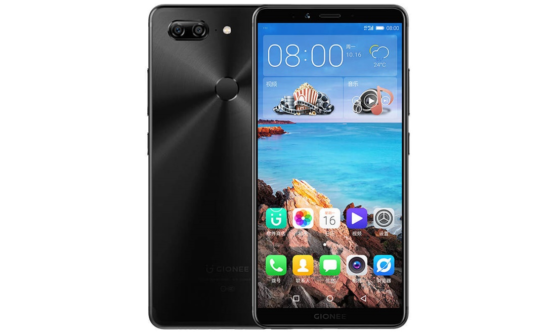 Android Gionee Gionee M7 Helio P30