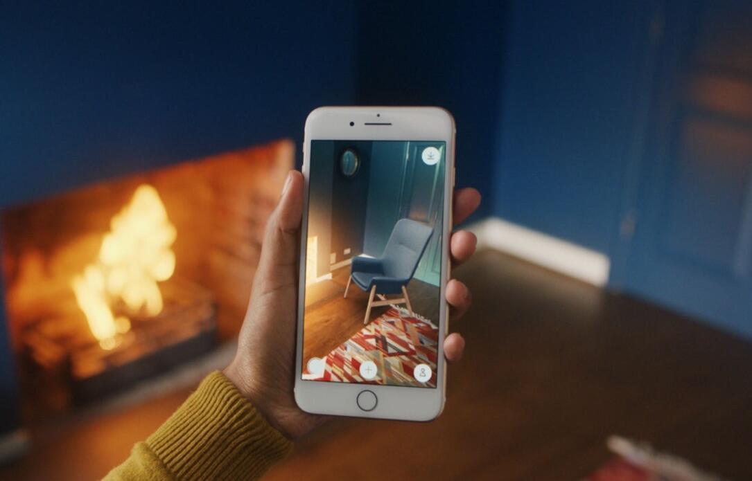 ikea place ios app m bel dank arkit virtuell daheim anschauen. Black Bedroom Furniture Sets. Home Design Ideas