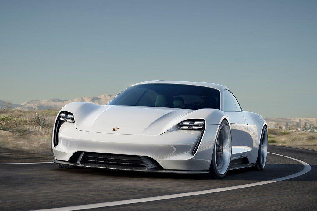 auto elektro mission e Porsche