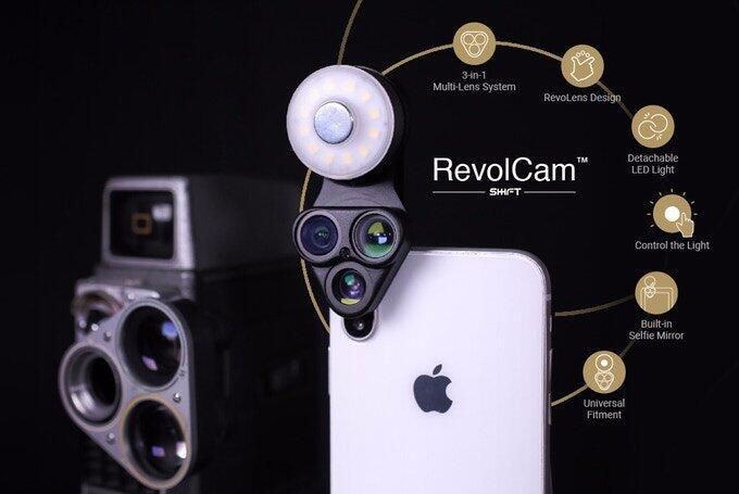 Android Apple Aufsatz Fish-Eye iphone kickstarter Linsen