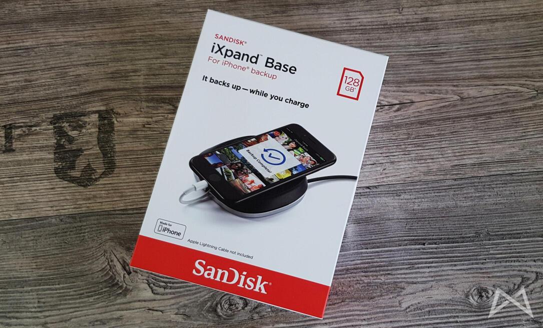 aff backup IFA2017 IFAflip iOS iXpand Base SanDisk Sicherheit