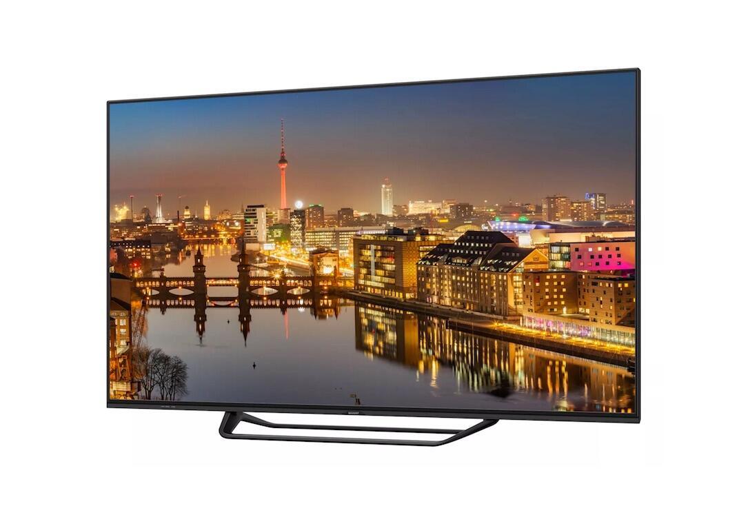 2018 4k 8k europa fernseher IFA2017 Sharp TV