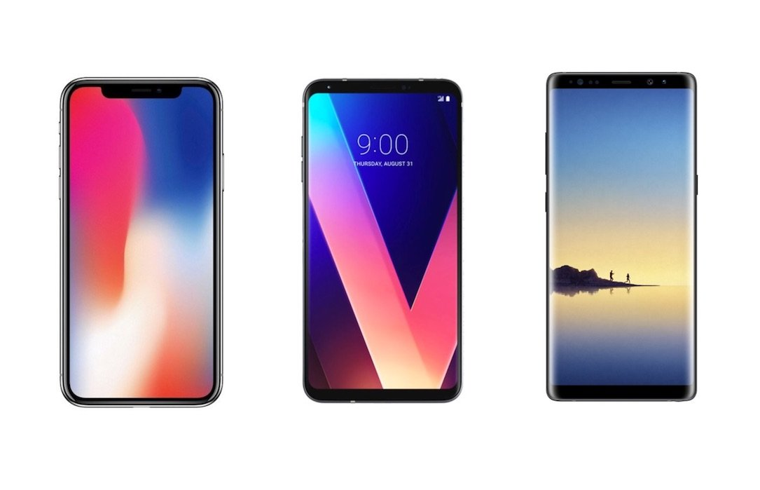 1 Android Apple galaxy note 8 Google iOS iphone iphone x kosten preis Samsung Smartphone teuer v30