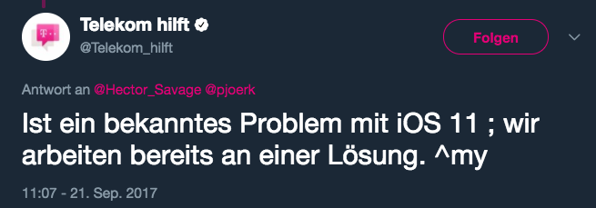 Telekom Problem