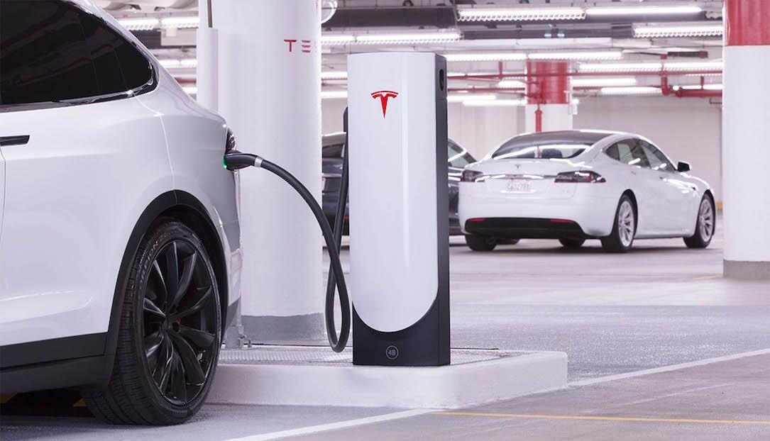 laden stadt Supercharger tesla