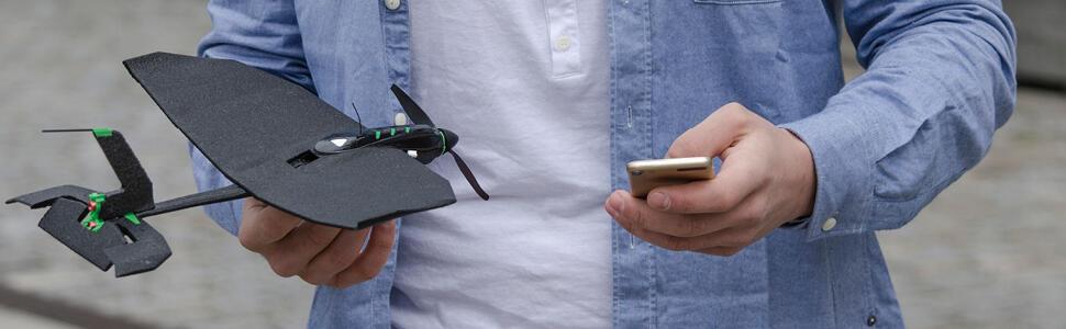 aff Android Apple ferngesteuert Flugzeug Gadget iOS leicht