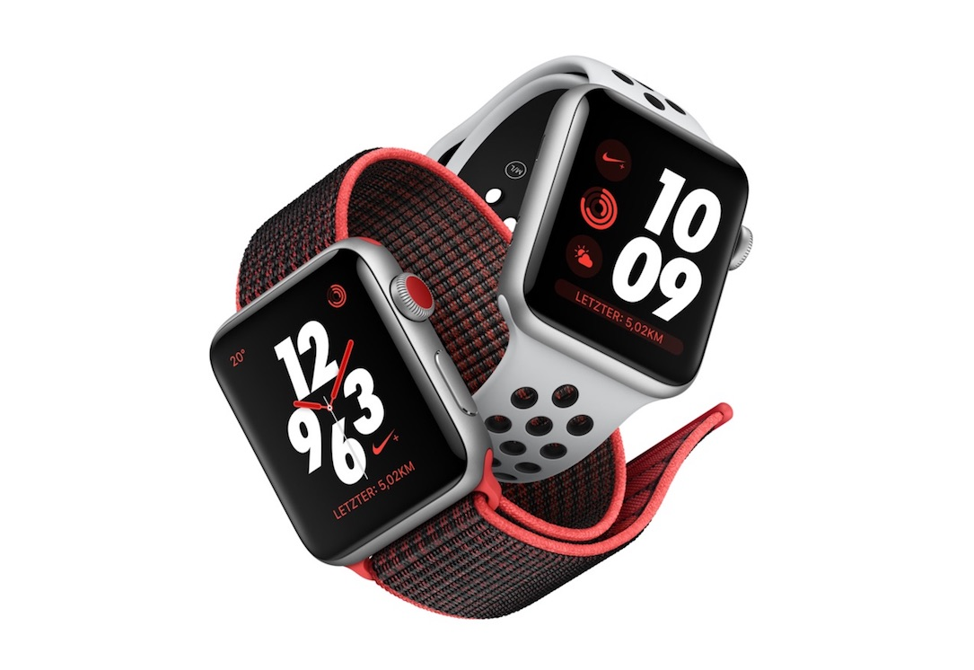 aff Apple iOS iphone nike series 3 watch