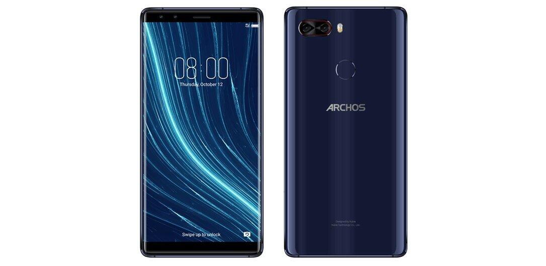 Android Archos Archos Diamond Omega nubia