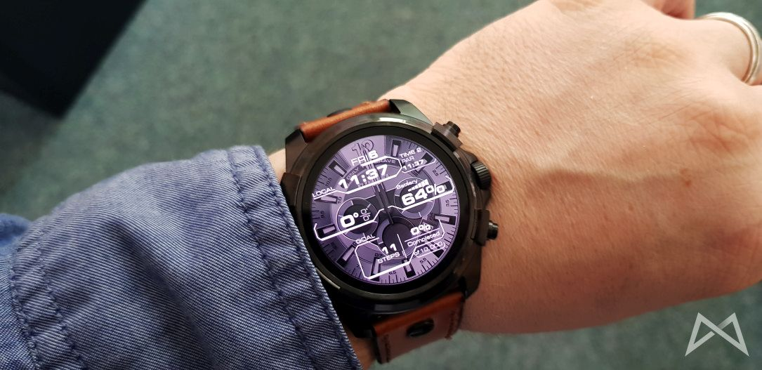 aff Android Android Wear ASA DieselON FullGuard review smartwatch test
