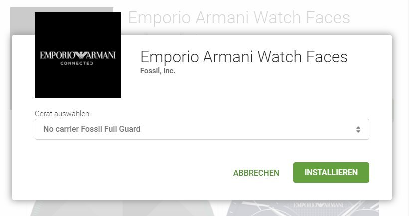 Android Fossil Group Watchfaces wear