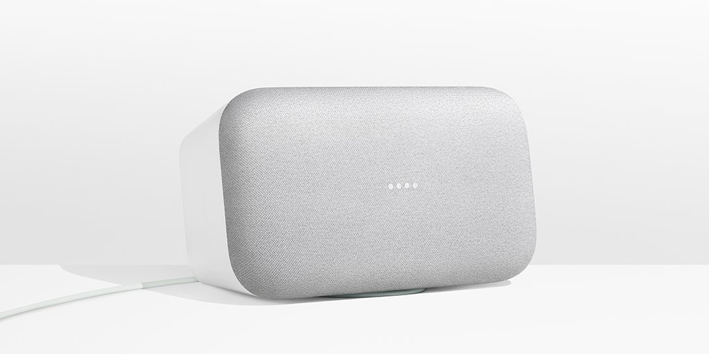 Google Google Home Max Heimassistent smart home