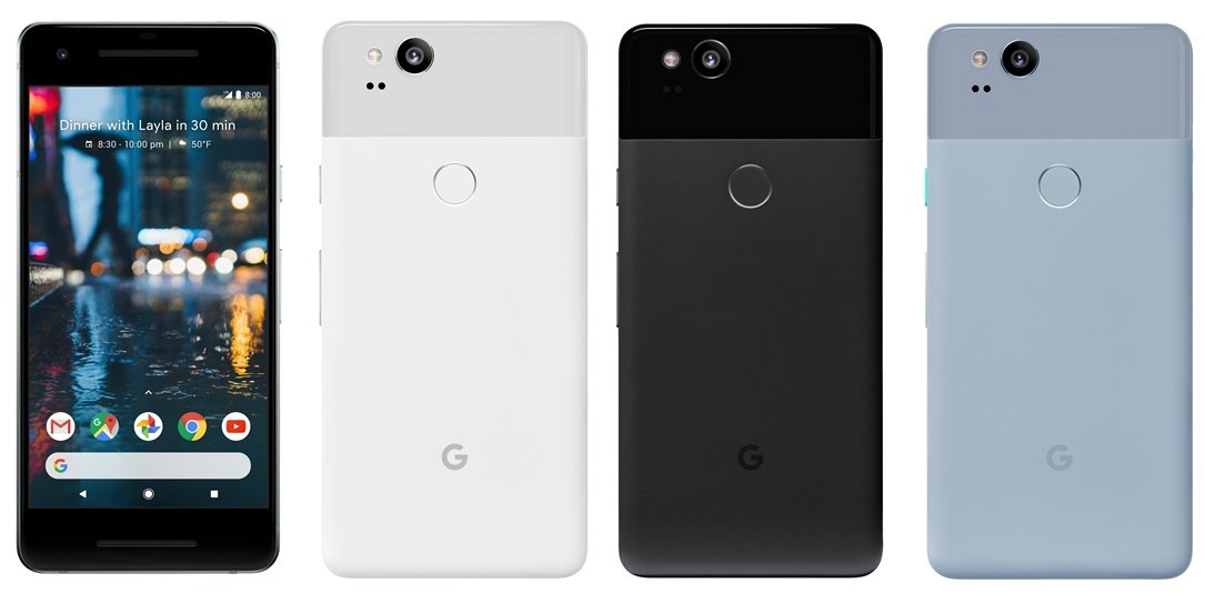 1 Android Google Google Pixel 2 Google Pixel 2 XL Leak