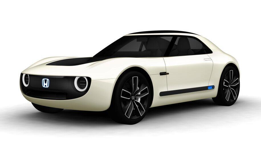 auto elektro honda Konzept Sport sport ev